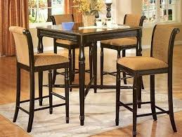 High Bistro Table Tall Kitchen Table And Chairs U2013 Thelt Co