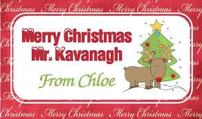 christmas chocolate bar wrapper design 2