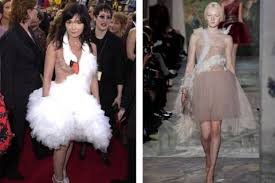 swan dress bjork and marjan pejoski inspire valentino valentino swan dress