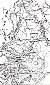 Map Of Northern India by Battle Of Ladysmith