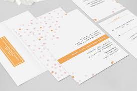 confetti wedding invitation fresh and modern wedding invitations