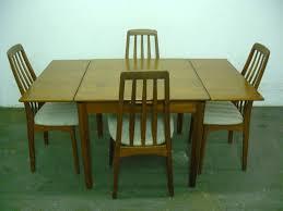 Teak Furniture Kitchen Dining Room Interior Light Brown Luxury - Scandinavian teak dining room furniture