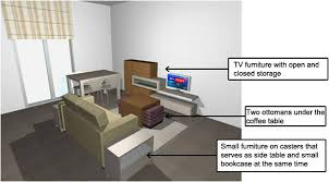 How To Position Furniture In A Small Living Room How To Arrange Furniture In A Small Open Plan Kitchen Living Room