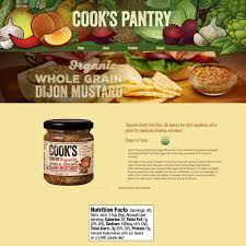 whole grain dijon mustard cook s pantry whole grain dijon