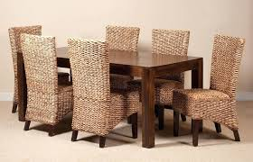 wicker kitchen furniture wicker dining chair collection in kitchen chairs with 25 best