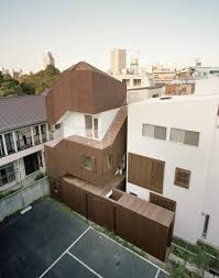 double helix house a tokyo family build upwards to create their home