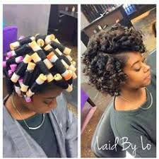roller set relaxed hair image result for perm rod roller set on relaxed hair hairstyles