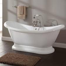 stunning small pedestal tub 78 images about bathroom ideas on