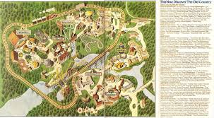 Six Flags New England Map by Paramount U0027s Great America 1998 Theme Park Maps Pinterest