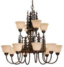 lodge chandelier rustic chandeliers u0026 cabin lighting black forest décor