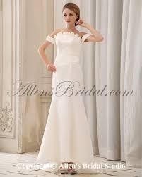 Cap Sleeved Crepe Sheath Wedding Dress David U0027s Bridal Sheath Wedding Dress Gorgeous Long Sleeves Sheath Column Brush