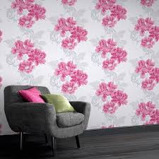 wall decor gorgeous floral wallpaper by wall doctor beadboard