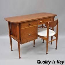 brass key secretary desk walnut antique desks secretaries ebay