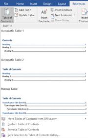 membuat daftar isi table of contents di word 2007 cara membuat daftar isi blog dewaweb