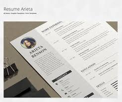 tips for your thin resume presentable resumes in microsoft word envato