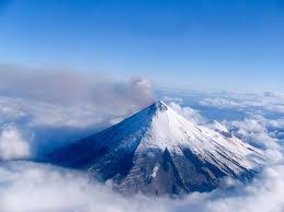 Pavlof Volcano Map Mount Pavlof Volcano