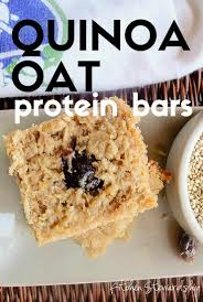 diy protein bars quinoa oat protein bar recipe