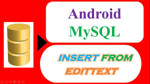 android httpurlconnection android mysql database 01 insert save from material edittexts