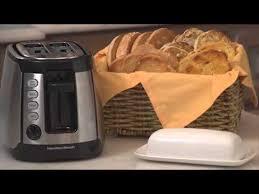 Hamilton Beach 4 Slice Toaster Hamilton Beach Keep Warm Toaster Stainless 22811 24810 Youtube