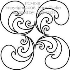 Picture Designs Free Continuous Machine Quilting Designs Feather Quilting Design