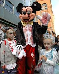 Halloween Zombies Costumes Mouse Zombie Costume