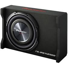 pioneer ts swx2502 10 subwoofer wedge box ryda
