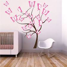 butterfly tree wall decal tree wall decal murals primedecals