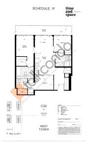eaton centre floor plan time and space condos talkcondo