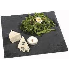 assiette cuisine assiette ardoise carrée vaisselle cuisine de la table gifi
