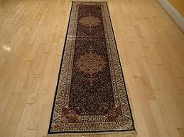 amazon com luxury navy persian rug long hallway runner 2x12