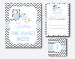 Owl Baby Shower Boy - owl baby shower etsy