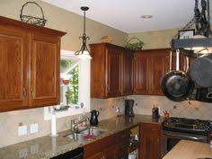 my golden oak cabinet kitchen remodel darkened with glaze and