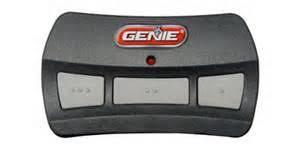 How To Reprogram Genie Garage Door Keypad by Programming A Genie Garage Door Opener Remote Genie Gitr 3 Button