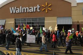 walmart and target black friday protesters target walmart on black friday the boston globe