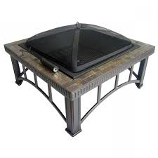 Fire Pit Insert Square by Incredible Shop Garden Treasures 30 Black Steel Wood Burning Fire