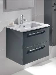 hudson reed quartet wall mounted bathroom vanity unit high gloss