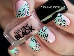 leopard print nails archives
