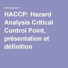 haccp d inition cuisine haccp dfinition cuisine health and safety food and hygiene safety