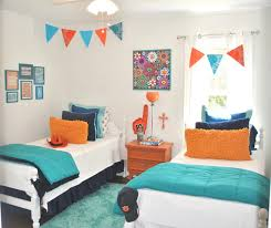 bedroom interesting shared teenage bedroom ideas design blue