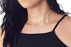 cross choker necklace images Cross choker cross necklace kendall jenner cross and cz jpg