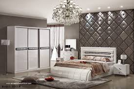 luxury bedroom sets made of mdf board laminated melamine high