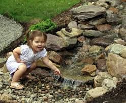 Waterfalls For Home Decor Small Garden Pond Design Kid Safe And Parent Approved A