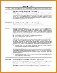 Paralegal Resume Sample by 4 Paralegal Resume Example Affidavit Letter
