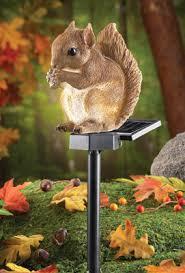 Solar Lights Garden Solar Squirrel Light Garden Stake Hand Painted Animal Solar Lights