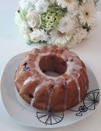 blueberry bundt cake time for baking