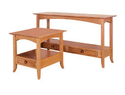 shaker sofa table large sofa tables