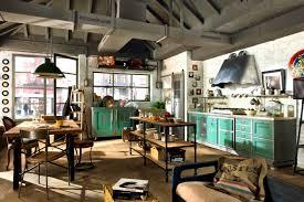 Small Industrial Kitchen Design Ideas Furniture Winsome Industrial Style Kitchen Design Ideas