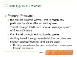 Which seismic wave travels the fastest after an earthquake