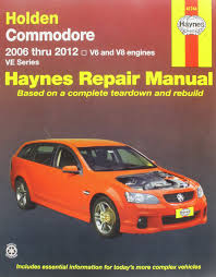holden commodore ve aus automotive repair manual 2006 2012