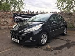 peugeot dealers uk peugeot 207 1 4 vti envy 5dr hatchback in black quality assured cars
